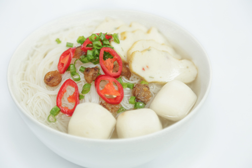 * Fish Ball Bee Hoon Soup