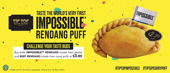 Impossible Rendang Puff